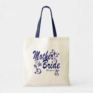 Butterfly/Mother of the Bride Budget Tote Bag