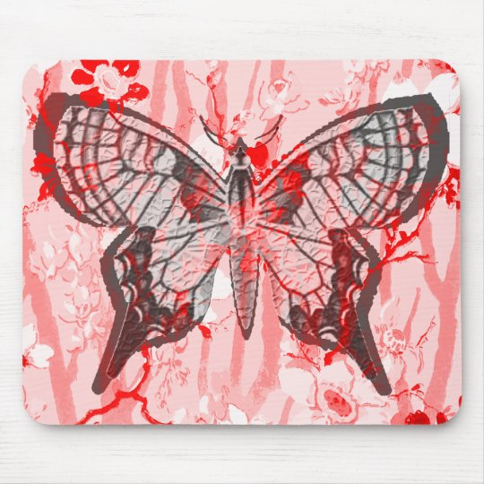 BUTTERFLY. MOUSE MAT