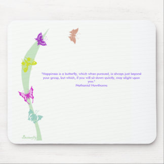 Butterfly mousemat mouse pad