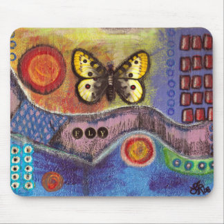 Butterfly Mousepad FLY