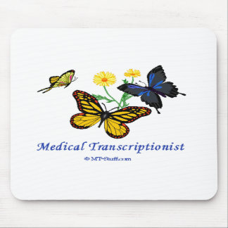 Butterfly MT Mouse Mats