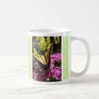 Butterfly Mug (1:Light Green) - Customizable