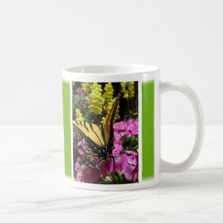 Butterfly Mug (5:Green) - Customizable