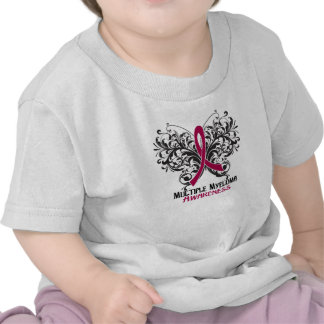 Butterfly Multiple Myeloma Awareness Shirts