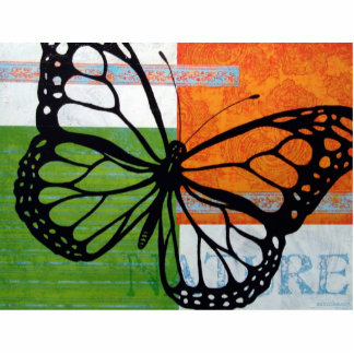 Butterfly Nature Photo Sculpture