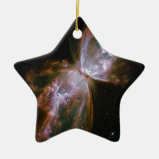 Butterfly Nebula Christmas Ornament