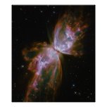 Butterfly Nebula NGC 6302 Poster