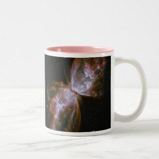 Butterfly Nebula NGC 6302 Two-Tone Coffee Mug