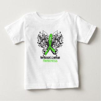 Butterfly Non-Hodgkins Lymphoma Awareness T Shirt