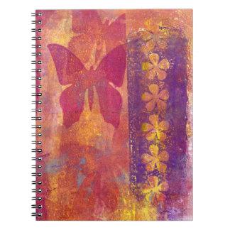 Butterfly notebook (g320)