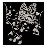Butterfly_Notes Print