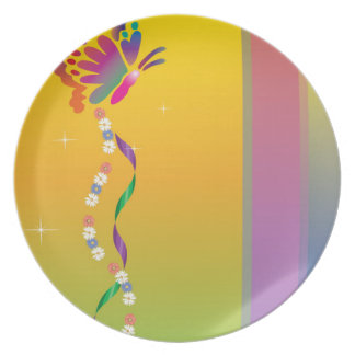 butterfly nuanced plate