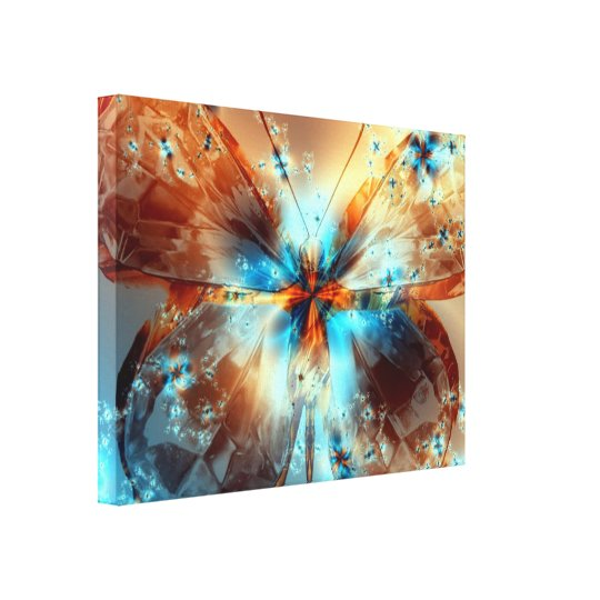 Butterfly of Light - Canvas
