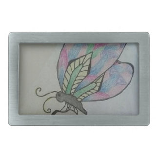Butterfly on a Flower Belt Buckles