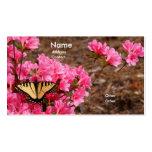 Butterfly On Azalea Business Card