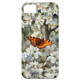 Butterfly on Blossom iPhone 5 Cases