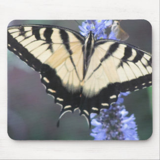 butterfly on flower mousepads