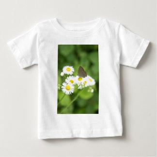 Butterfly on flower t-shirt