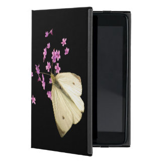 Butterfly on Flowers Cases For iPad Mini