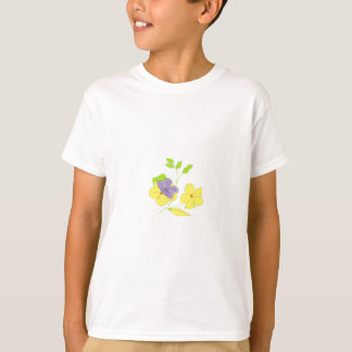 Butterfly on flowers T-Shirt
