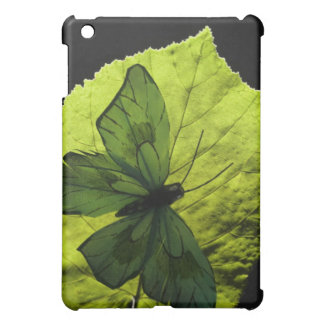 Butterfly on leaf iPad mini covers