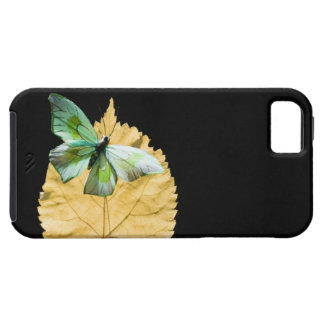 Butterfly on leaf iPhone 5 case