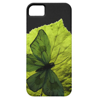 Butterfly on leaf iPhone 5 covers