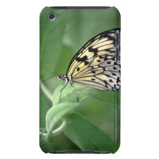 Butterfly on leaf iPod Case-Mate case