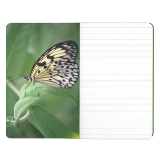 Butterfly on leaf journal