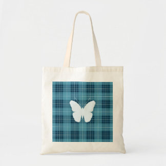 Butterfly on Plaid Blues II