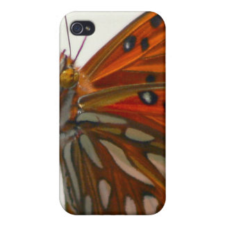 Butterfly on Plant Case For The iPhone 4