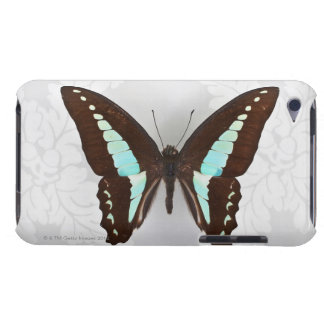 Butterfly on wallpaper background barely there iPod covers