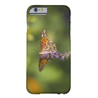 Butterfly on wildflowers barely there iPhone 6 case