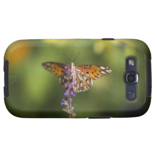 Butterfly on wildflowers samsung galaxy SIII cases