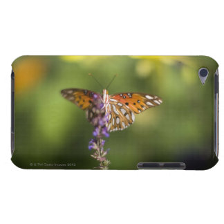 Butterfly on wildflowers iPod touch cover
