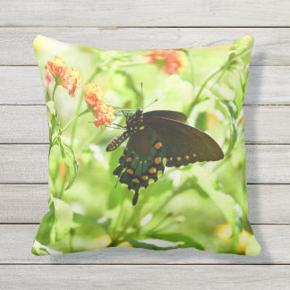 Butterfly outdoor throwpillow