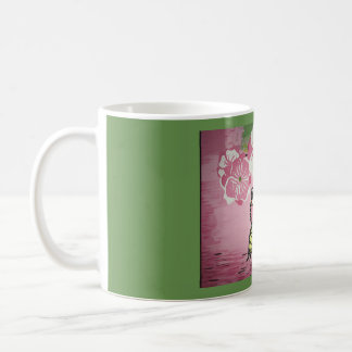 Butterfly over Water Coffee Mug