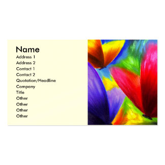 Butterfly Painting Art - Multi Business Card