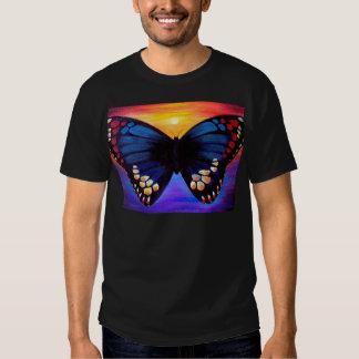 Butterfly Painting Art - Multi Tshirt