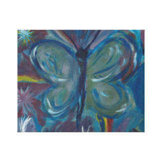 Butterfly Painting Canvas Print