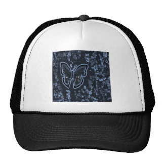 Butterfly Painting Negative Cap