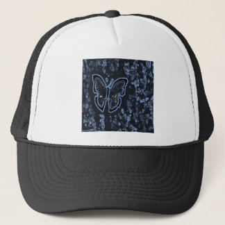 Butterfly Painting Negative Trucker Hat