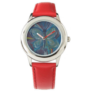 Butterfly Painting Watch