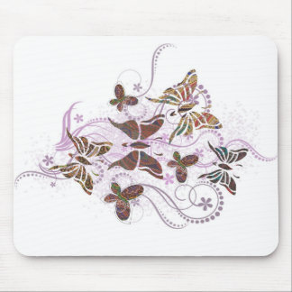 Butterfly Paisley Mouse Mat