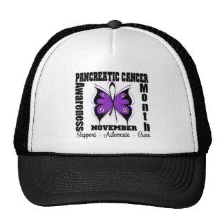Butterfly - Pancreatic Cancer Awareness Month Trucker Hat