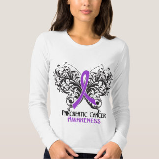 Butterfly Pancreatic Cancer Awareness Shirts