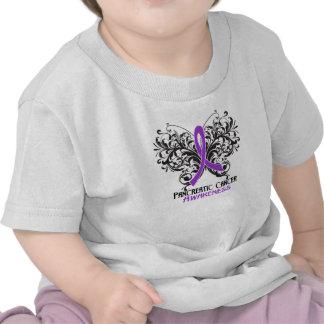 Butterfly Pancreatic Cancer Awareness T-shirt