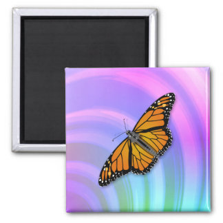 Butterfly Pastel Magnet