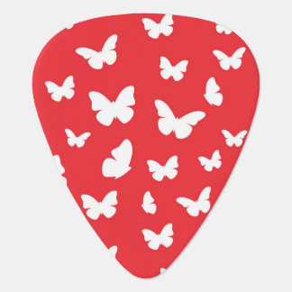 Butterfly pattern 2 guitar pick
