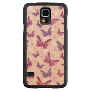 butterfly pattern 2 maple galaxy s5 case